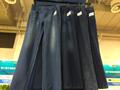 靛蓝毛圈裤子