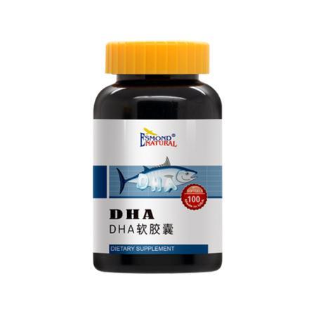 健十商城愛司盟DHA營養軟膠囊美國原裝進口
