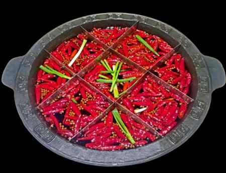 傳統九宮格火鍋