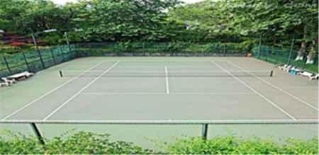 网球场施工建设