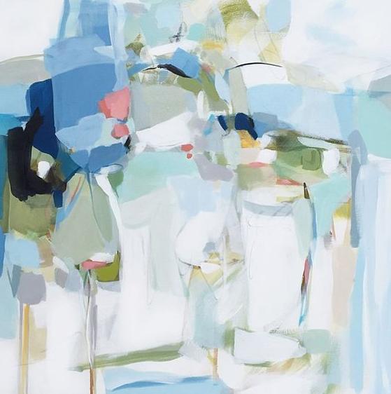 抽象寫意油畫