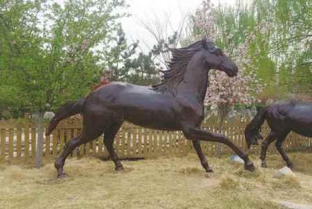 鑄銅動物雕塑