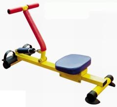 木质划船器水阻划船机 商用家用静音可调液压划船机