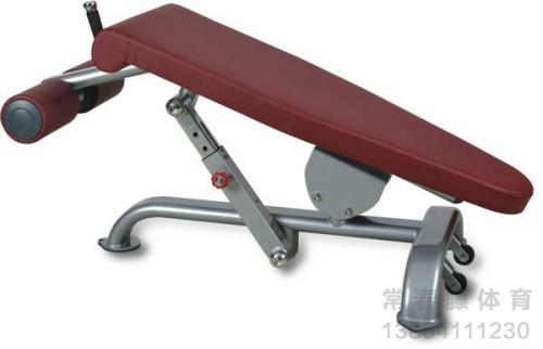 专业健身房训练器材 可调式腹肌板 健身器材厂家直销 家用腹肌板