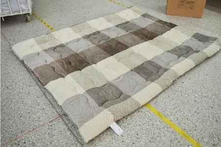 素色压泡布床垫 素色压泡布床垫定做