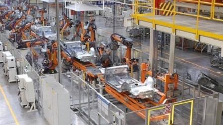 机器人自动化点焊焊接