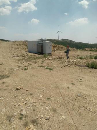 风力发电机组防雷装置检测
