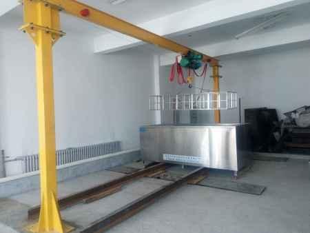 电动葫芦单槽超声波清洗机