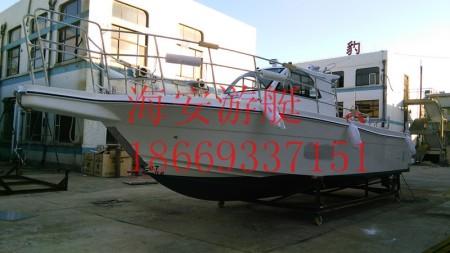 山东海钓船批发