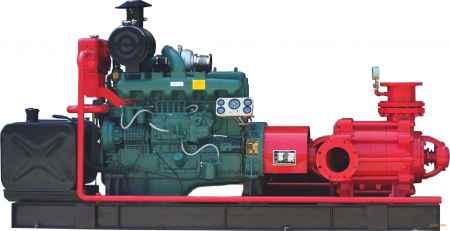 河北柴油机消防泵组