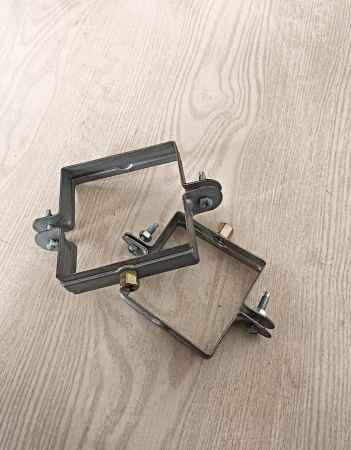 加强型镀锌板方管夹
