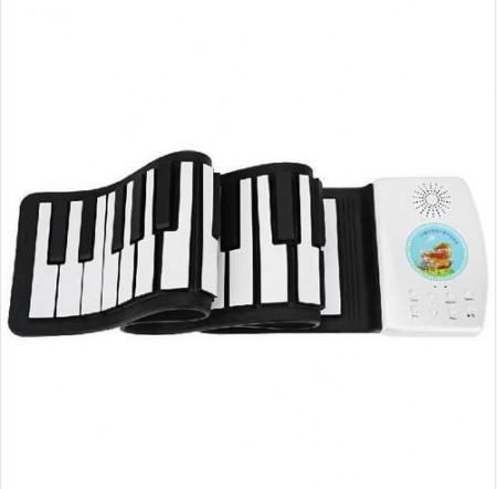 49键儿童手卷钢琴