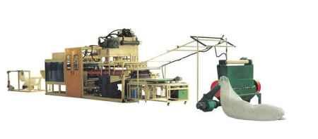 PS全自动液压真空成型机生产线