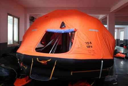 山东25人救生筏设计