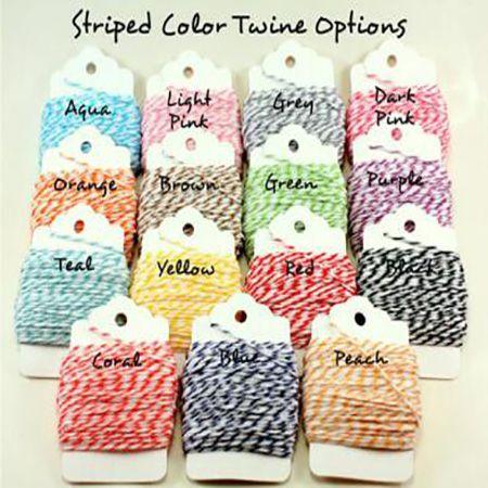 彩色棉线加工