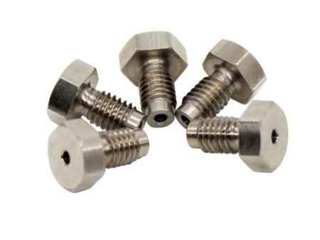 厂家直销外六角通孔浮动接头304不锈钢扁头外螺纹接头非标定制