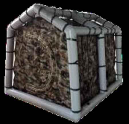 室外气柱式电磁屏蔽帐篷