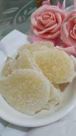 广东传统蜜饯糖姜片