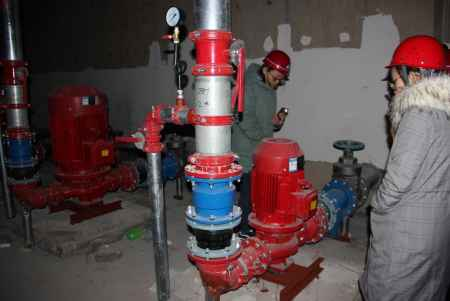 消防工程专业施工