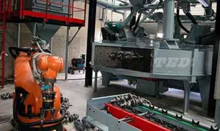 曲轴抛丸清理机生产厂家