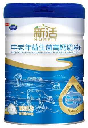 江苏新活中老年益生菌高钙奶粉